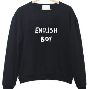 English Boy Sweatshirt