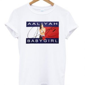 12ee5a4cf Aaliyah Babygirl Tshirt - StyleCotton