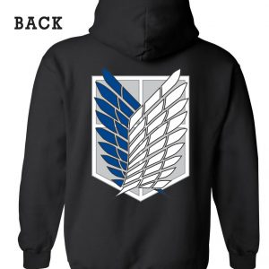Attack On Titans Logo Hoodie