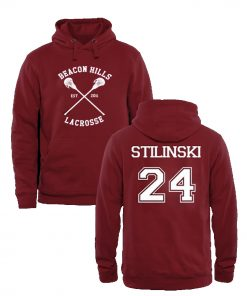 Beacon Hills Lacrosse Stilinski Mens and Girls Hoodies