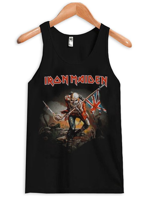 Iron Maiden Trooper British Unisex Tanktop