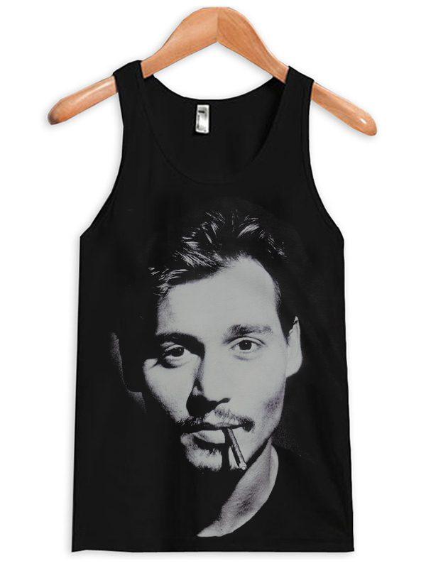 Johnny Depp Actor Film Star Rock Pop Tanktop