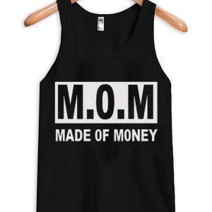 MOM Made Of Money Unisex Adult Tanktop