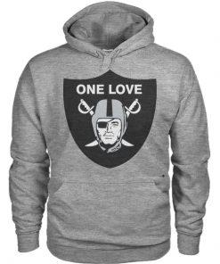 One Love Oakland Raiders Hoodie