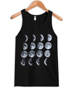 Phases of The Moon Unisex Tanktop