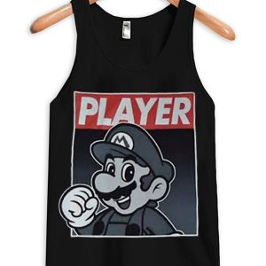 Super Mario Player Unisex Adult Tanktop