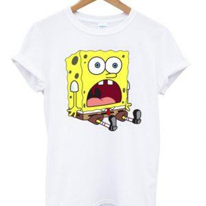 Surprised Spongebob Unisex Tshirt
