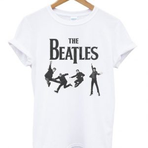 The Beatles Jumping Band Tshirt