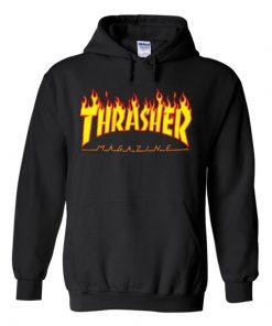 Thrasher Fire Yellow Hoodie