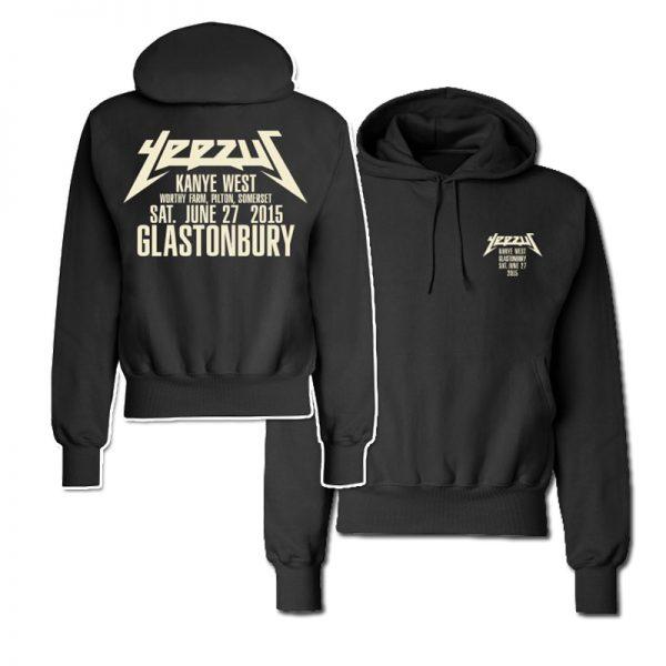 Yeezus Glastonbury 2015 Hoodie