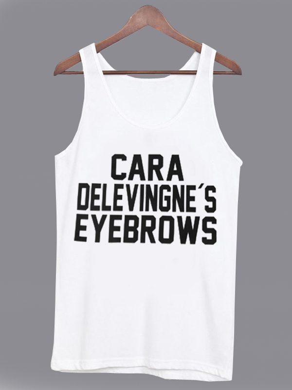 Cara Delevingne's Eyebrows Unisex Tanktop