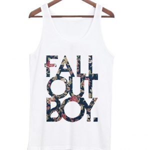 Fall Out Boy Floral Tanktop