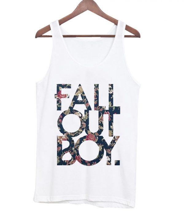 Fall Out Boy Floral Tanktop
