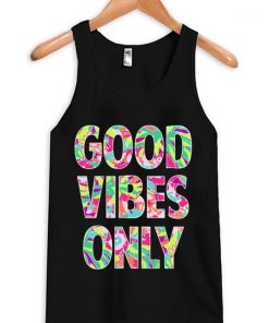 Good Vibes Only Unisex Tanktop