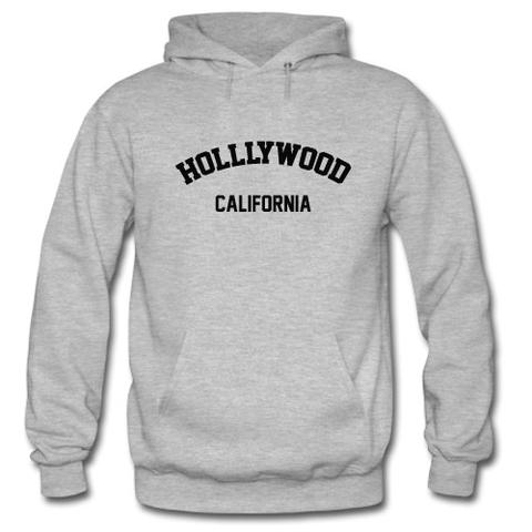 Hollywood California Hoodie