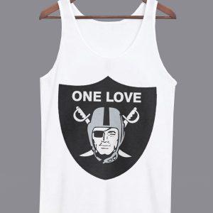 One Love Oakland Raiders Unisex Tanktop