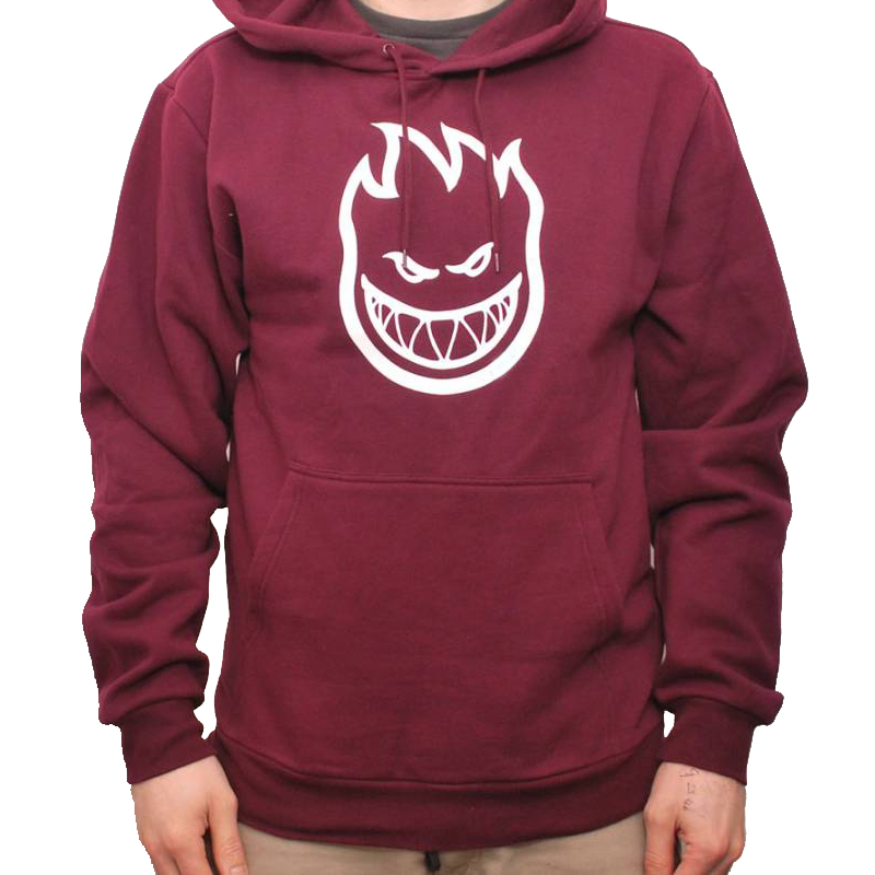 spitfire hoodie black. spitfire bighead hoodie black