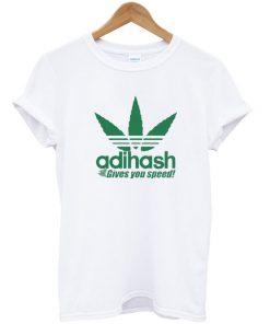 Adihash Rastafarian Gives You Speed Tshirt