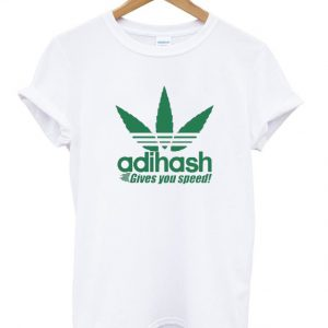 Adihash Rastafarian Gives You Speed Tshirt