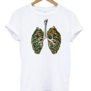 Weed Lungs Unisex Tshirt