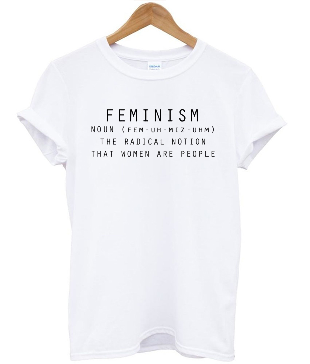 658cc0f7fb11 Feminism Noun Quote T-shirt - StyleCotton