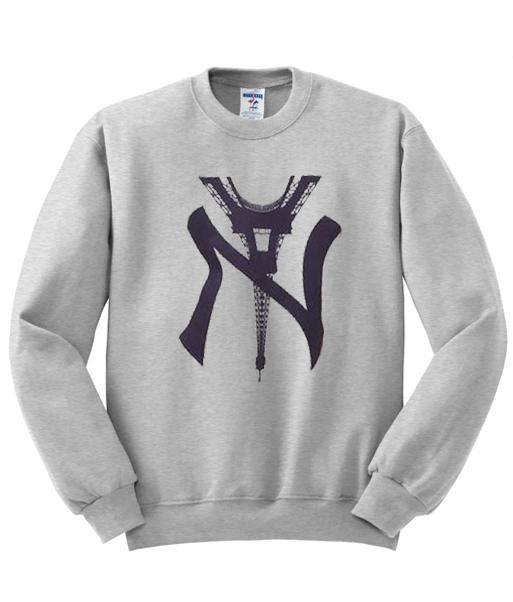 d2464d8ef NY Eiffel Tower Sweatshirt - StyleCotton