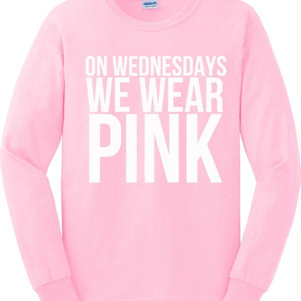 On Wednesdays We Wear Pink Sweatshirt - StyleCotton