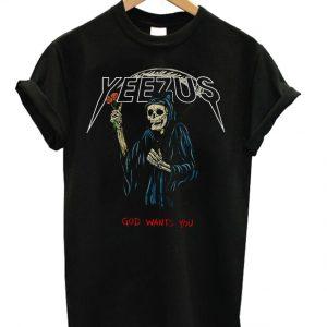 Yeezus God Wants You Unisex T-shirt