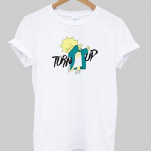 Turn Up Lisa Simpson T-shirt
