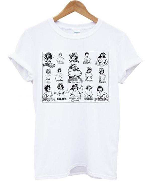funny boobs t-shirt