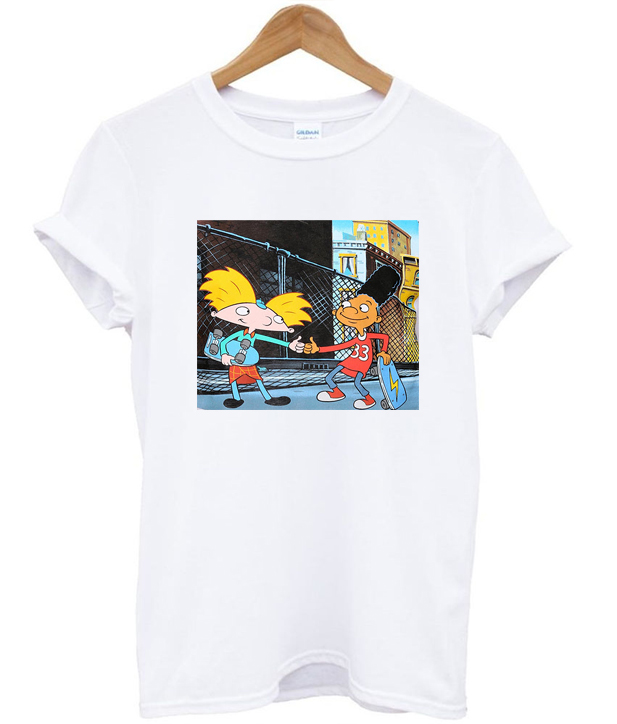 Hey Arnold?! graphic cotton t-shirt tAXiTzT