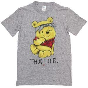 Winnie The Pooh Thug Life T-shirt