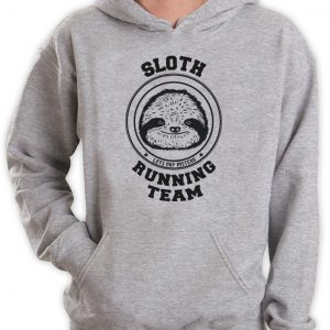 Sloth Running Team Hoodie