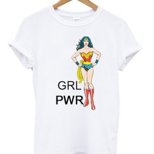 Wonder Woman Girl Power T-shirt