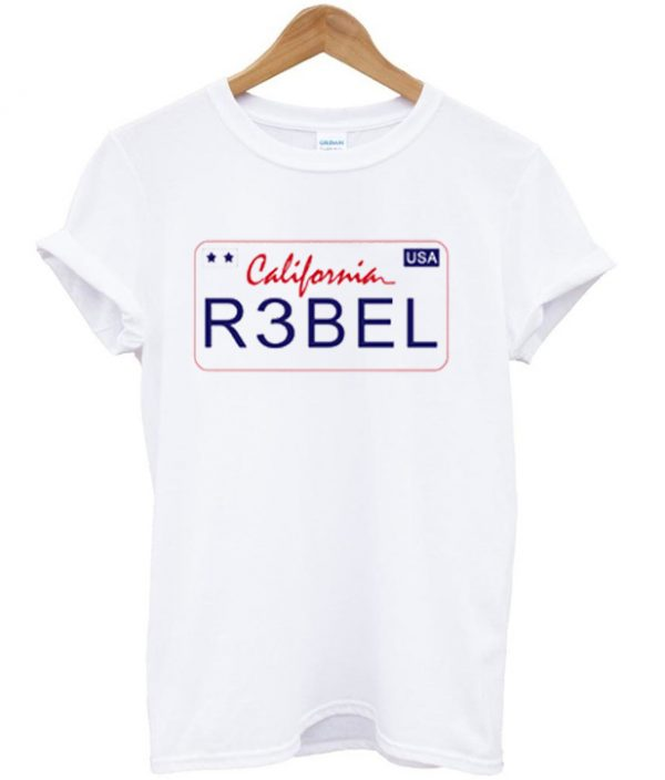 California Rebel USA T-shirt
