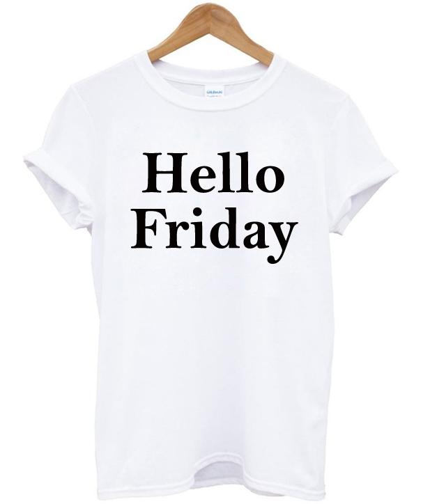 cc4a916c8 Hello Friday T-shirt - StyleCotton