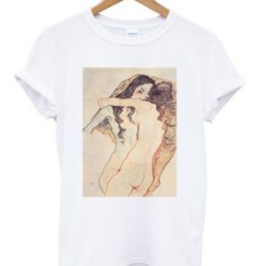 Two Woman Embracing T-shirt
