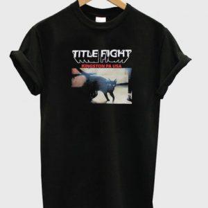 Title Fight Kingston T-shirt