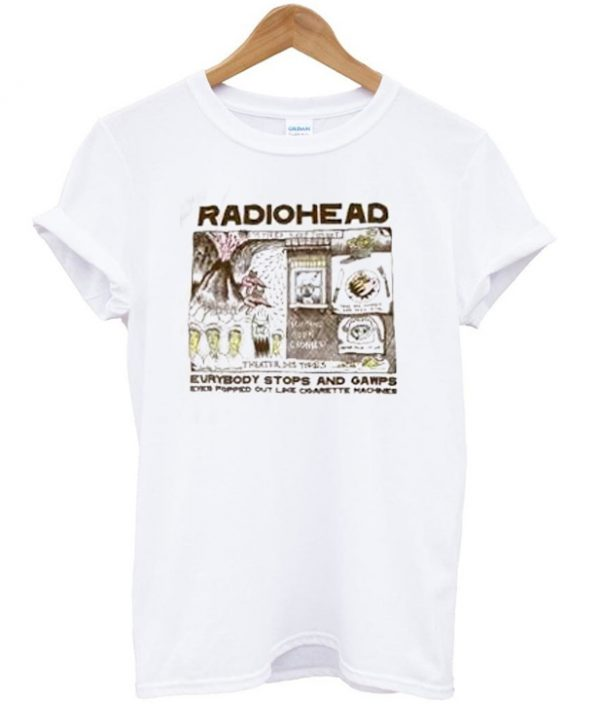 5e3d0741 Radiohead Color In Drawing T-shirt