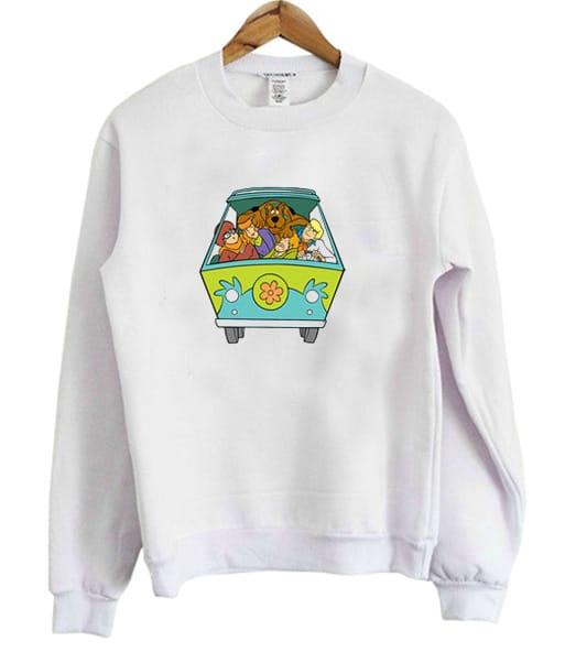 Scooby Doo Mystery Machine Sweatshirt