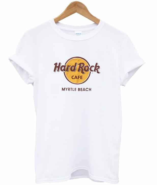 hard rock cafe myrtle beach t shirt stylecotton. Black Bedroom Furniture Sets. Home Design Ideas