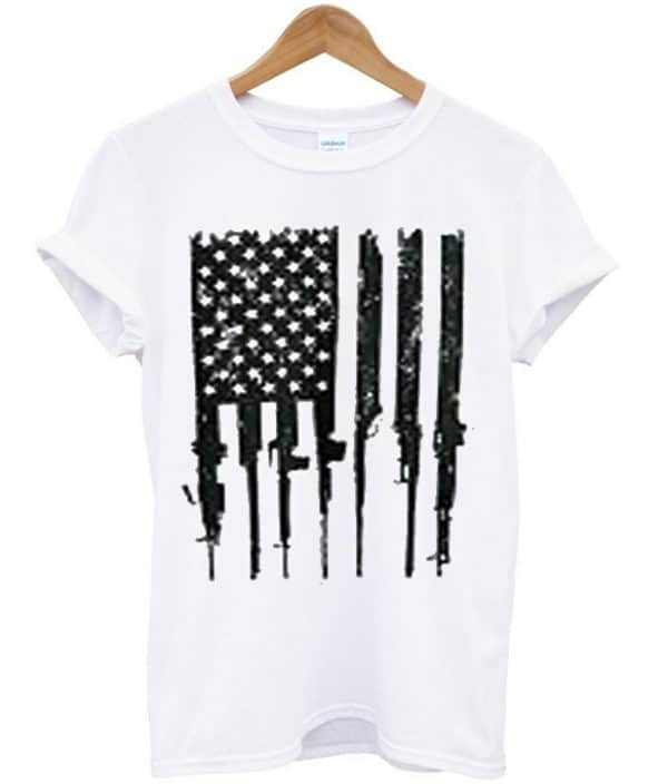 Rifle Flag T-shirt