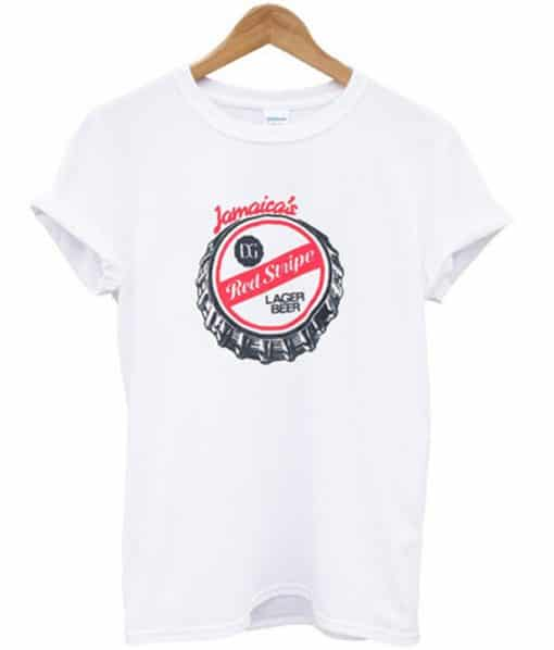 Jamaicas Red Stripe T-shirt