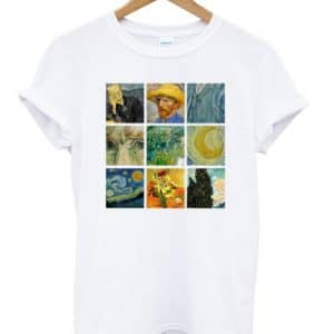 Van Gogh Art T-shirt