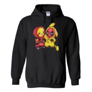 Pikapool Pikachu Deadpool Hoodie