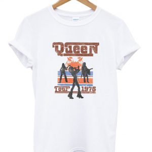 Queen Tour 1976 T-shirt