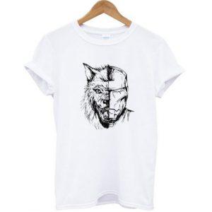 Stark Wolf Iron Man T-shirt