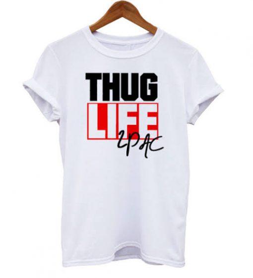 Thug Life Tupac T-shirt