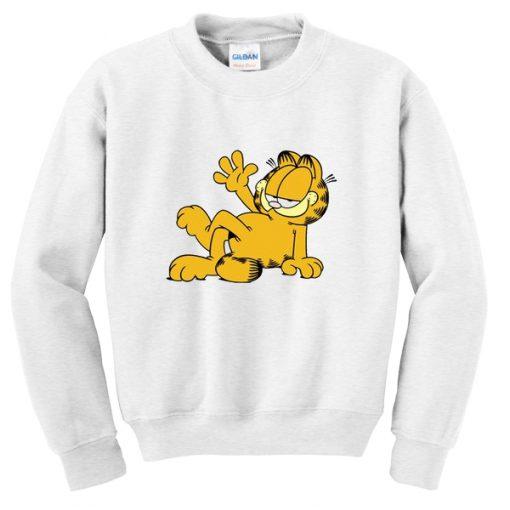 Relax Garfield Sweatshirt