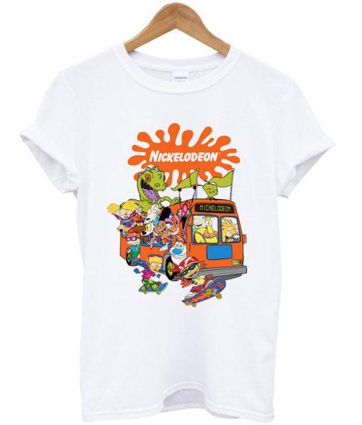 Nickelodeon Bus T-shirt